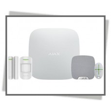 AJAX PLUS ALARM-KIT M SIRENE HVID
