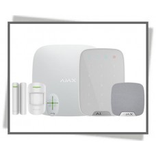 AJAX PLUS ALARM-KIT M BETJ. HVID
