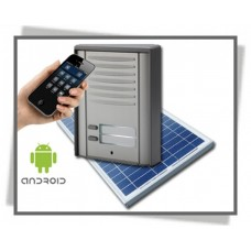 GSM Dørtelefon & Access Control Systems with Solar Panel