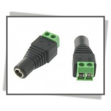 cctv dc power 12v connector plug
