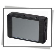 Palm size touch screen portable DVR with motion detection