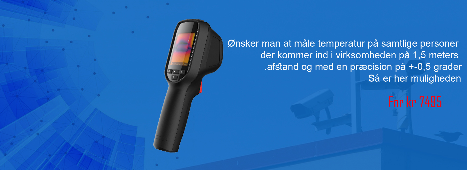 Portable Thermal Imager - Corona camera